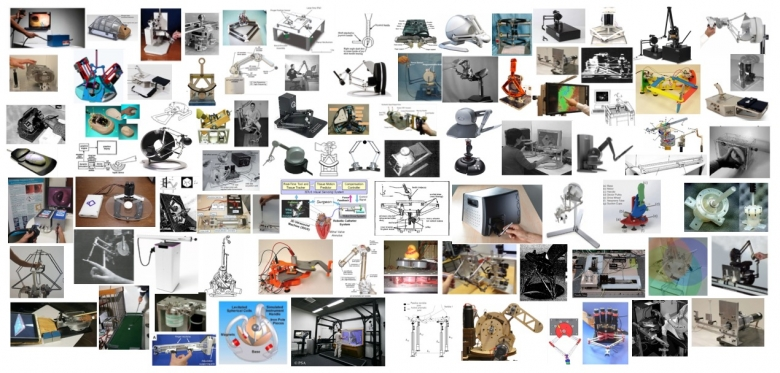 large group of images of technology